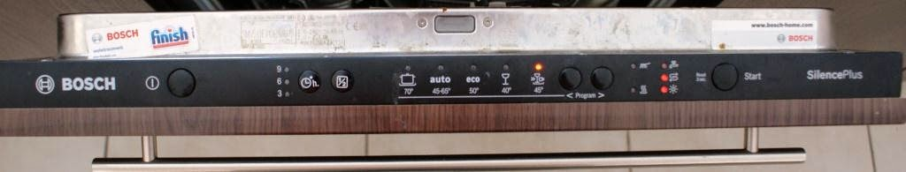 Panel sterowania zmywarki BOSCH  SMV50E70EU