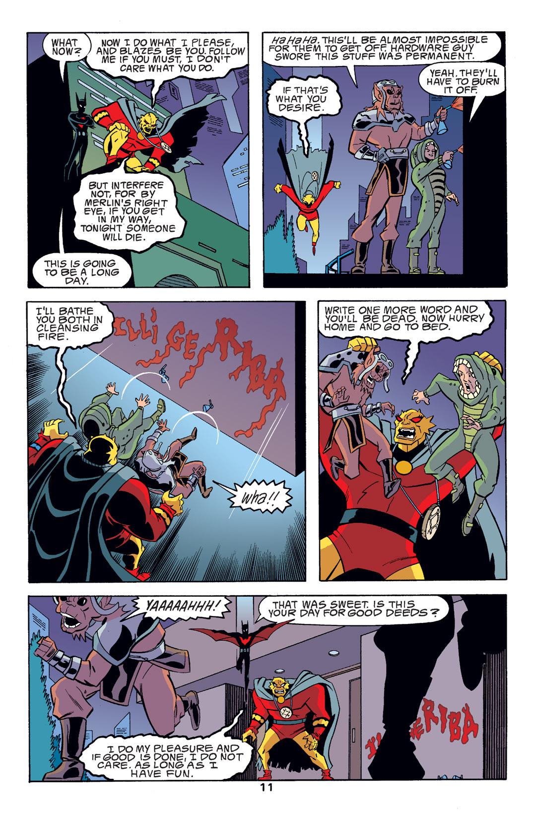 Batman Beyond [II] Issue #14 #14 - English 12