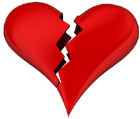 broken heart emoticon for facebook