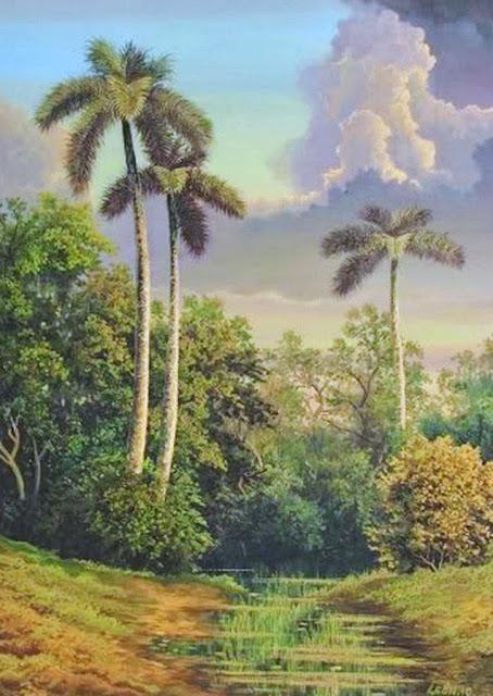 paisajes-con-palmeras-al-oleo