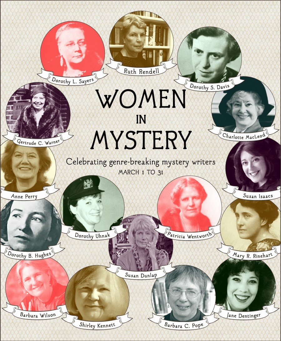 women in mystery month infographic