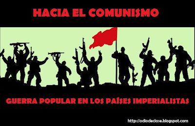 Sobre la Guerra Popular en los países imperialistas - publicado en 7 partes en el blog ODC GP+IMPERIALISTAS