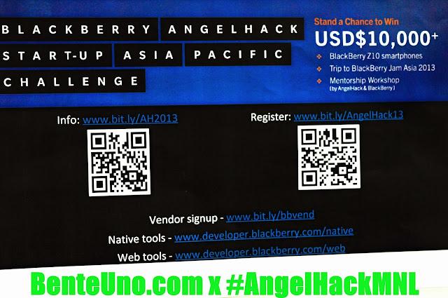 Blackberry at Angel Hack Manila 2013
