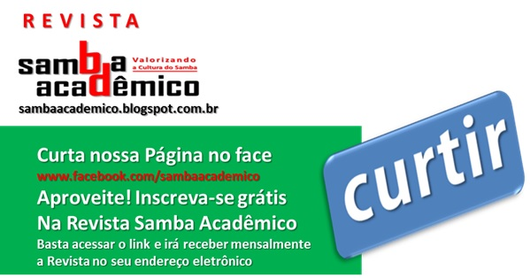 REVISTA SAMBA ACADÊMICO NO FACE