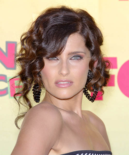 Nelly Furtado Hot Brunette Colour Hairstyle 18