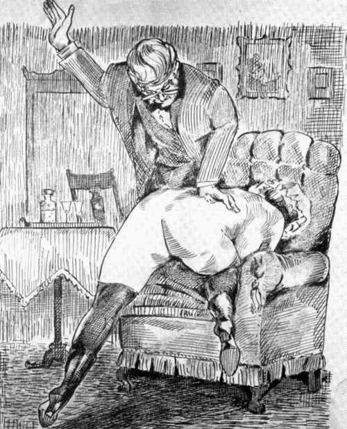 spanking white cartoons and Black
