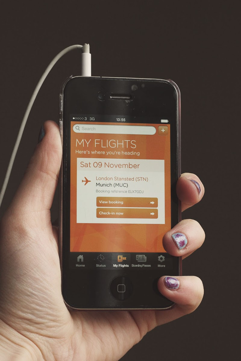 easyjet iphone app