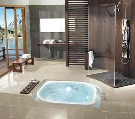 Huis tuin interieur inspiratie ellegirltalk - Amazing luxury bathroom designs inspirations ...