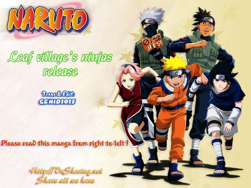 Naruto chap 435 Trang 1 - Mangak.info