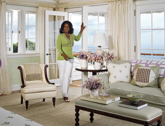 House interior, diseño de interiores, Oprah Winfrey