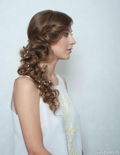 fryzura ślubna 16