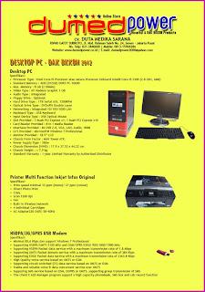 Produk Desktop PC DAK BKKBN 2013