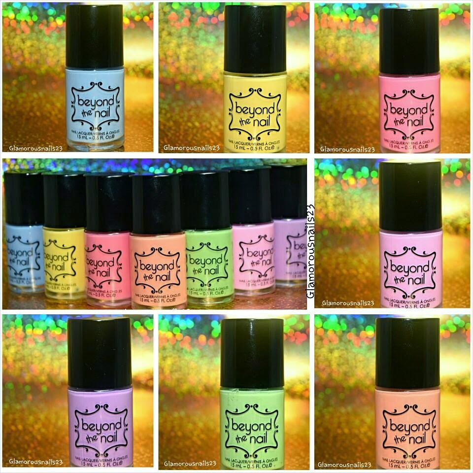 Beyond The Nail Spring Collection