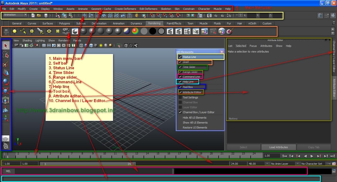 Maya Interface 01