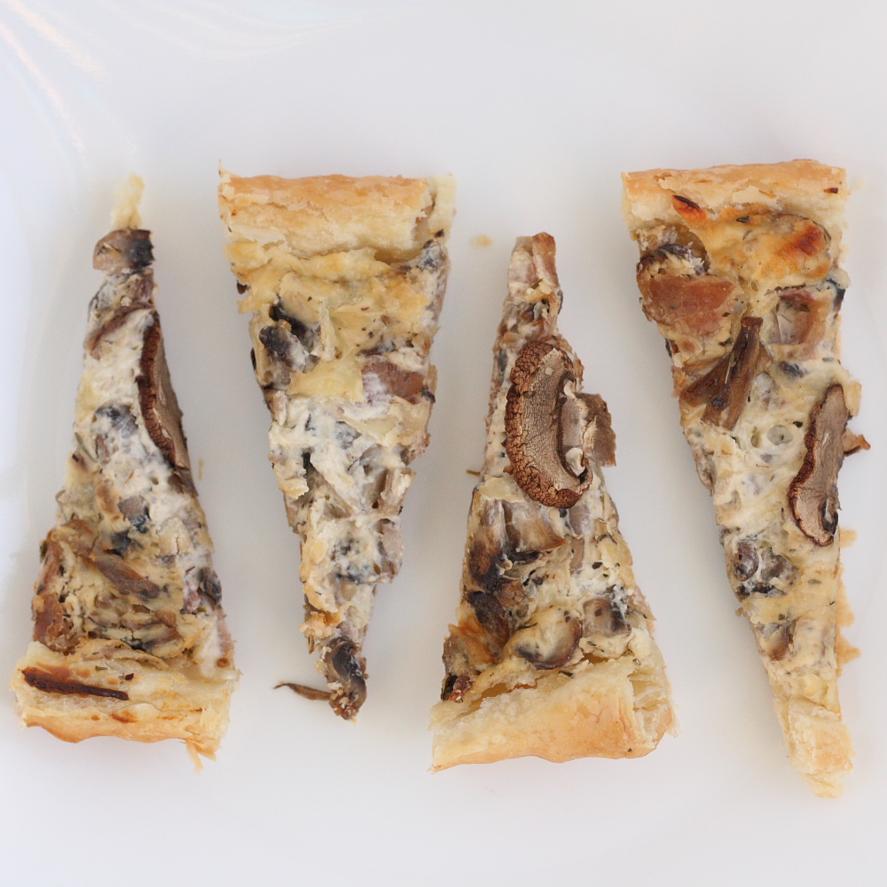 Creamy Mushroom Tart - Mmm... is for Mommy