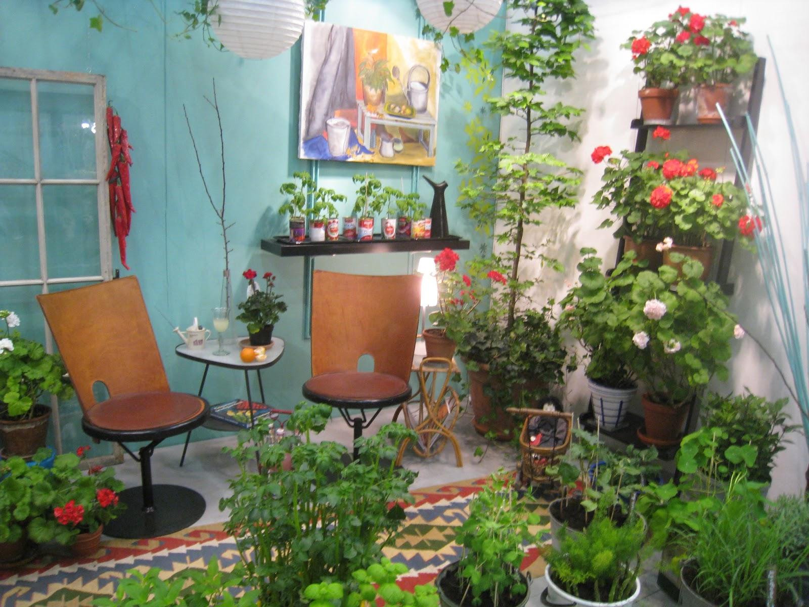 Kerstins green room: balkonger från trädgårdsmässan