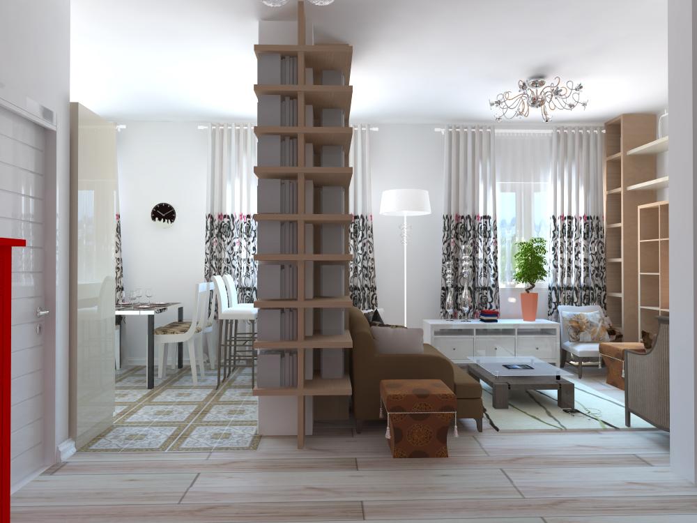 Дизайн 2х комнатной квартиры 2017-2018 современные идеи