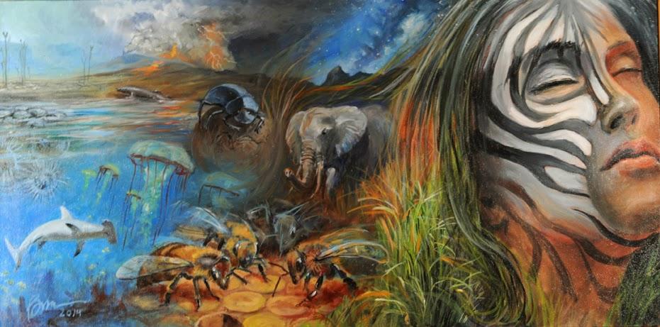 Elephant Dreaming - BruceKerrArt-2015