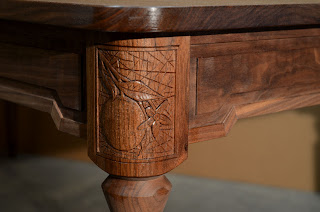 carved%2Bwalnut%2Btable%2Bleg%2B1 a walnut table with carved legs
