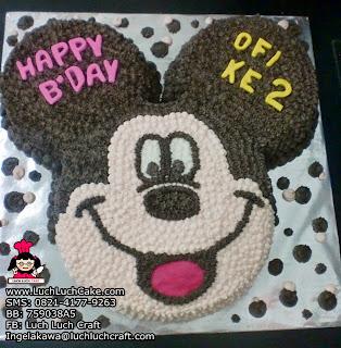 Kue Tart 3D Mickey Mouse