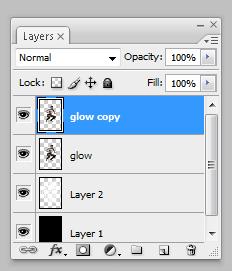 glow11 Penggunaan efek glow di Dance Ray dengan photoshop