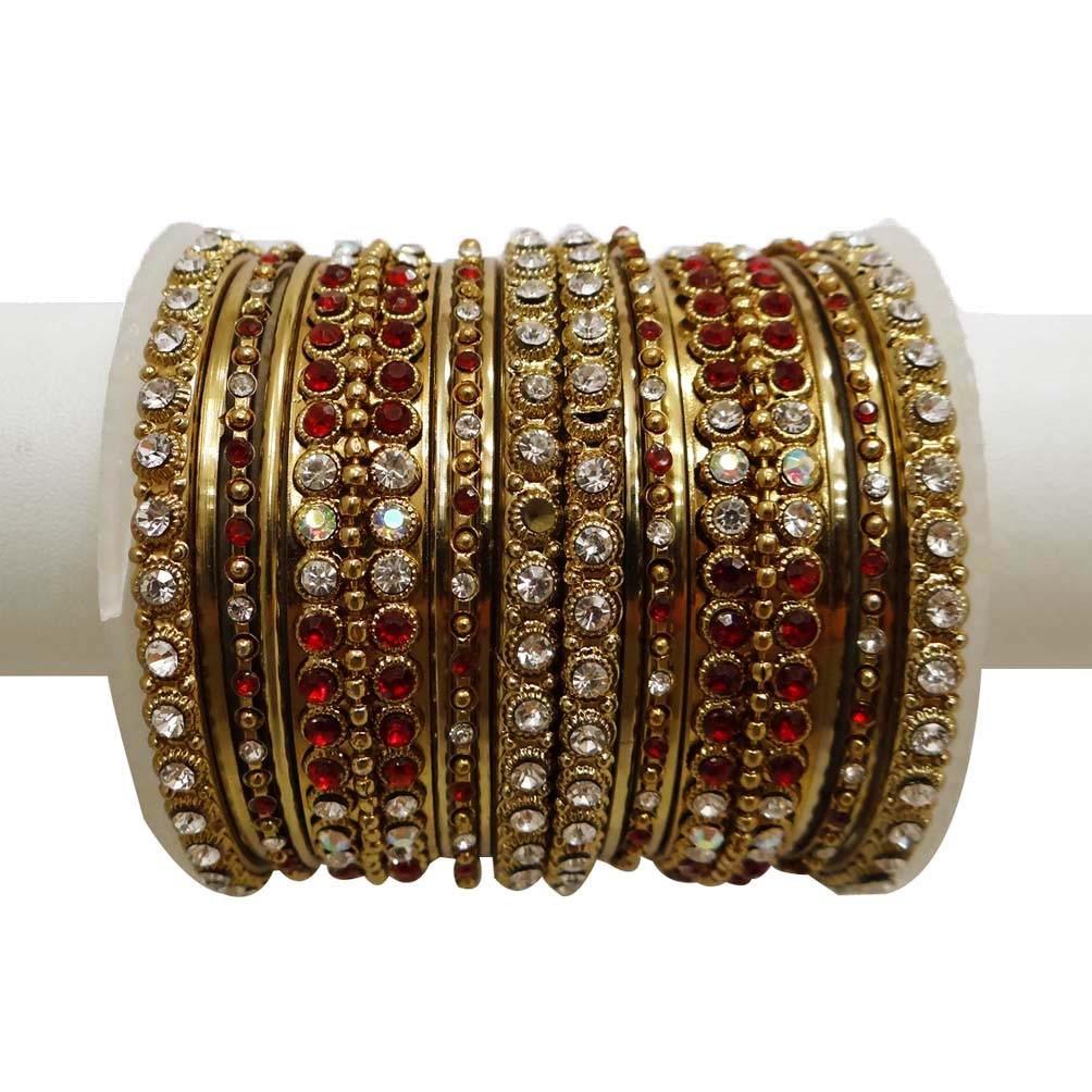 Indian Traditional Bridal Bangles;Wedding Kada/Bracelet ...