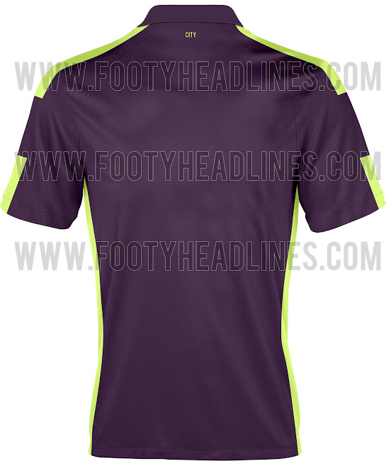 Leaked! Manchester Citys 3rd kit is purple and garish green [Pictures]