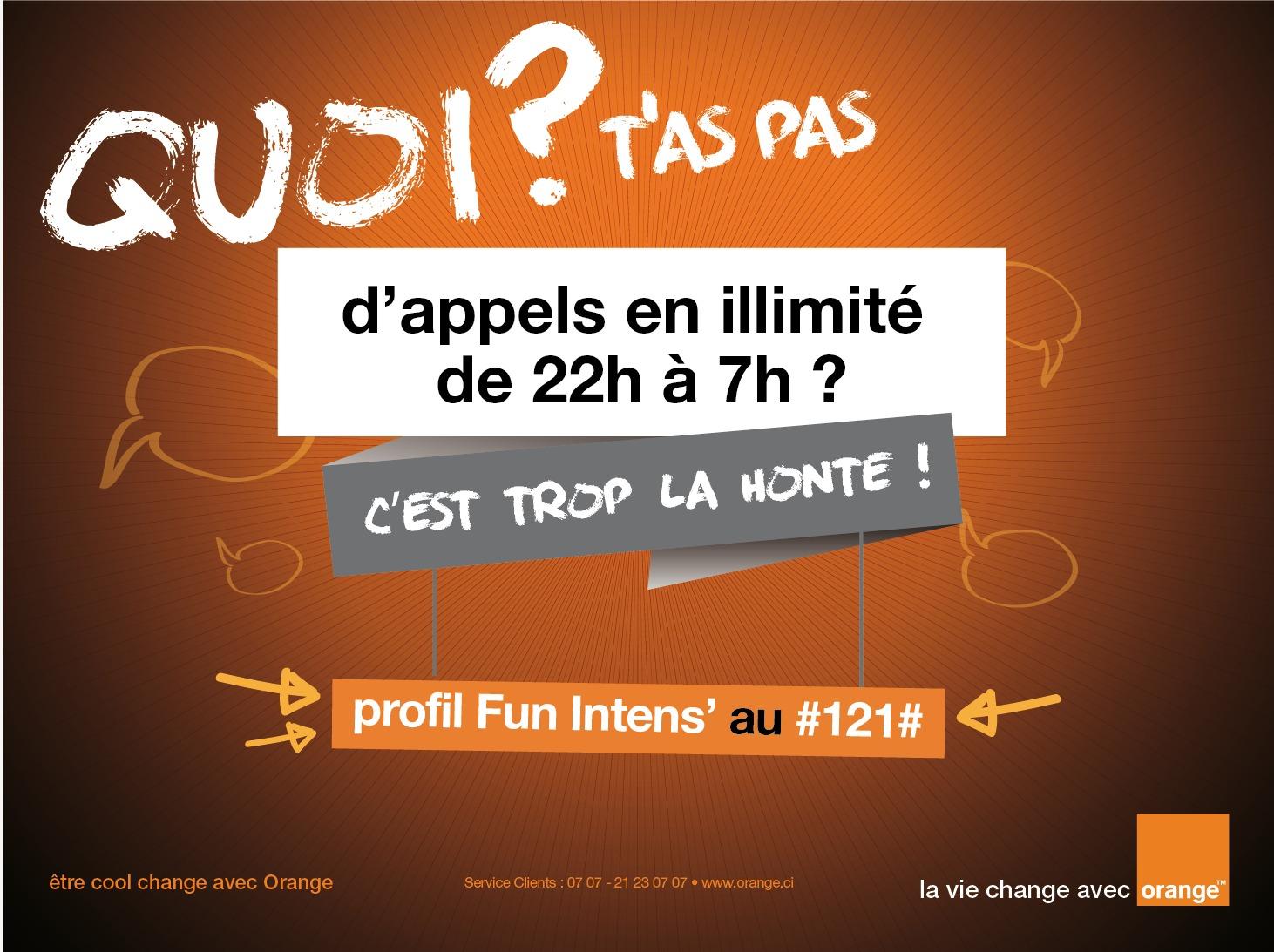 Avec fun intens orange c te d ivoire offre des appels illimit s l actu web d edith