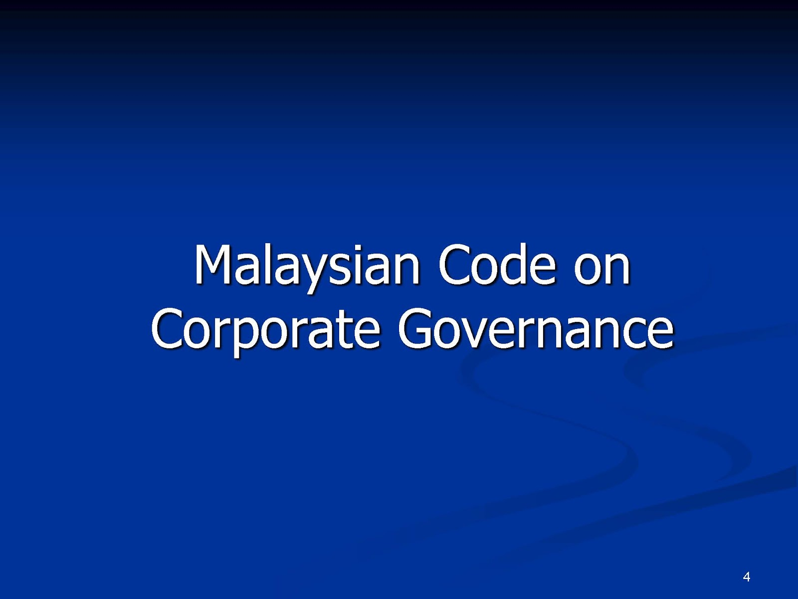 corporate and governance in malaysia 8th corporate governance asia recognition awards 2012 the awardee must have must a previous publicly-acclaimed track record for corporate governance (this can be in.
