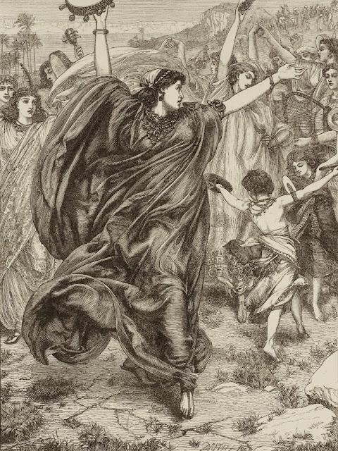 Miriam,Edward Poynter, old testament
