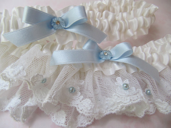the garter of your choice from special event garter designer Deborah