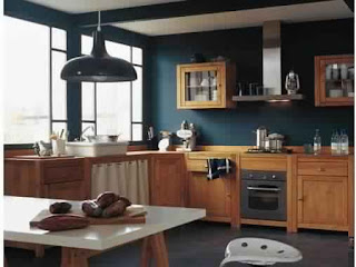 Meuble de cuisine en bois Ikea