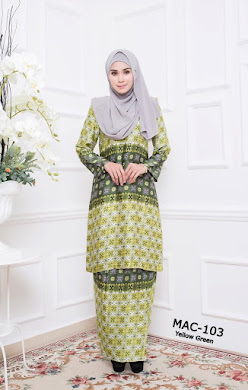 MYESHA AMBERLY COLLECTION - Yellow Green
