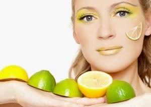 Zitronen Maske für fettige Haut