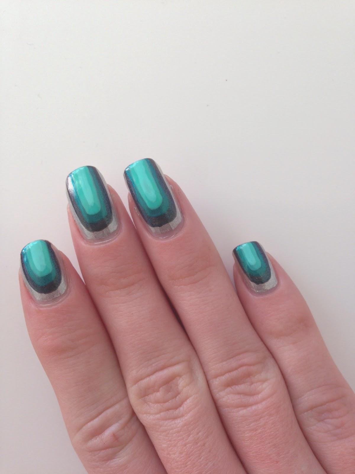 nail art facile au pinceau