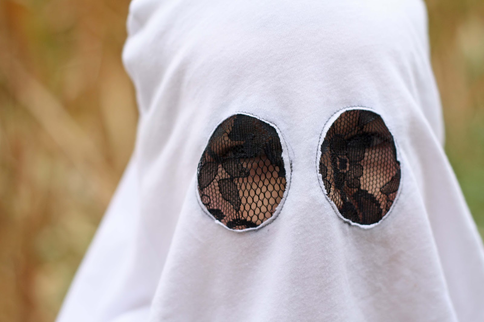 Diy halloween ghost3 - Easy Diy Ghost Costume