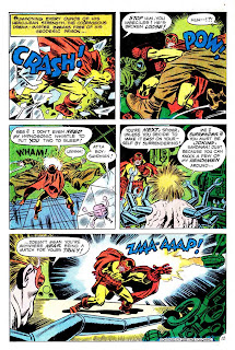 The Sandman v1 #6 dc bronze age comic book page art by Jack Kirby, Wally Wood
