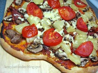 ham-mushroom-ananas-pizza