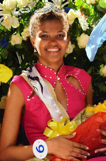 Miss Seychelles World 2013 Agnes Gerry Emmanuel