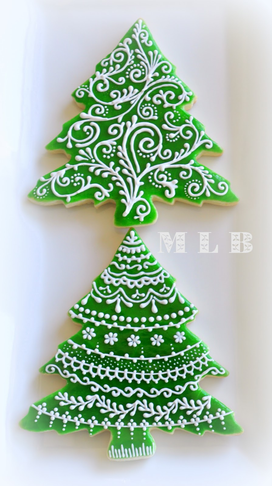 My Little Bakery Christmas Tree CookiesAnd Polish
