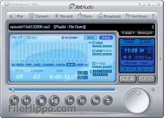 تحميل برنامج لتظبيط الصوت 2013 Download jetAudio اخر اصدار