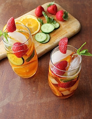 Pimm's No. 1 Cup (Guest Post from Food Lust People Love)