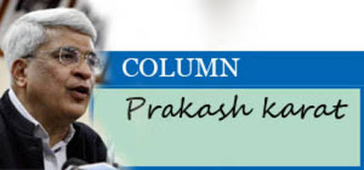 Column Photo of Prakash Karat