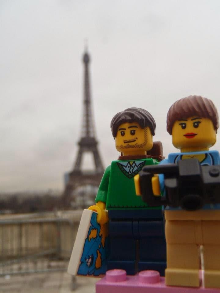 Conheça os Viajantes LEGO e sua maneira de registrar viagens