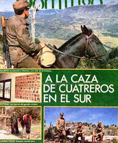 CARABINEROS A LA CAZA DE LOS CUATREROS DEL SUR