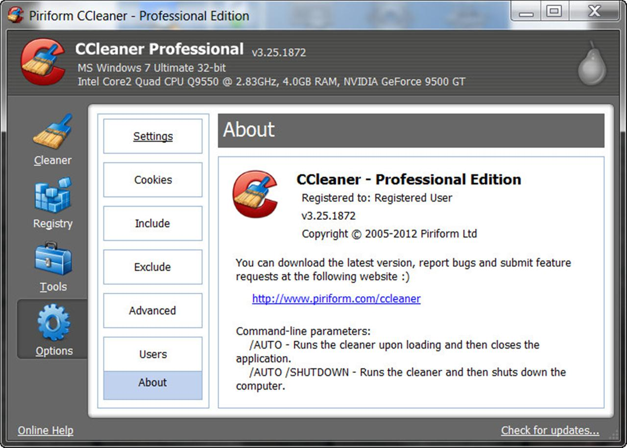 Ccleaner Full 2012