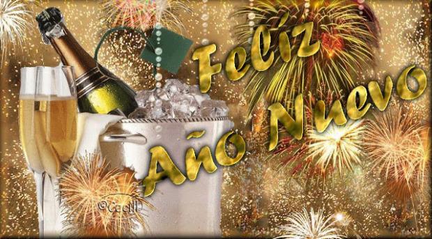 Imagenes Para Decir a los Amigos Y Familiares Feliz Año Nuevo