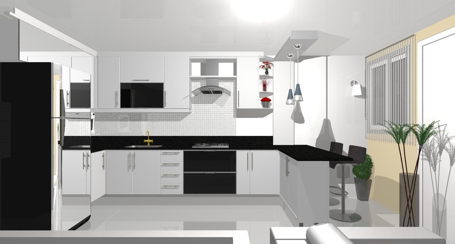 Cantinho da Mimi: Projeto da Cozinha #65433A 1576 844