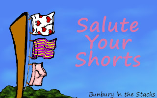 Salute Your Shorts Meme image from Bunbury in the Stacks
