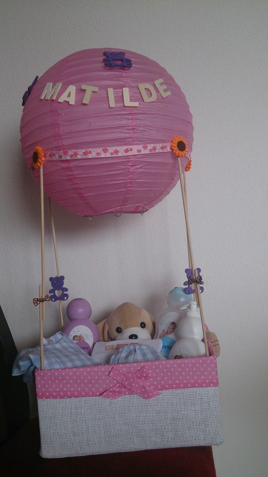 Regalos originales y pr cticos para beb s y toda la familia hechos a mano globo aerost tico - Regalos originales para la casa ...